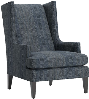 Luxe High Wing Back Chair Daydream