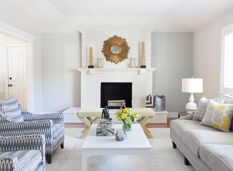 Living Room Design by Nest Design