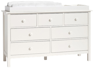 Kendall Extra Wide Dresser Topper Set Simply White