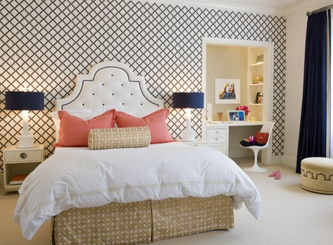 Traditional Bedroom Makeover by Celebrity Designer