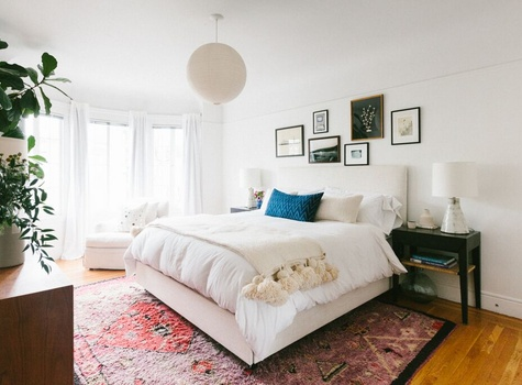 Heidi Caillier Bedroom Makeover
