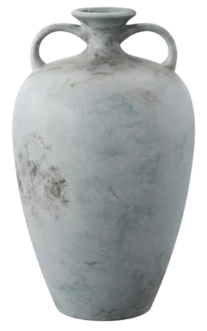 Pindall Handcrafted Blue Table Vase Decorist