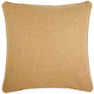 Make Your Own Pillow Dana Square Throw European Pillow Cover In Gold Decorist