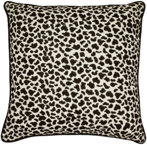 Laundry By Shelli Segal Palma Leopard Throw Pillow In Black White Decorist