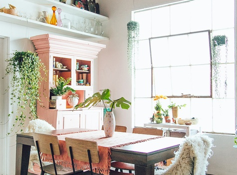 Dinning Room design by Justina Blakeney