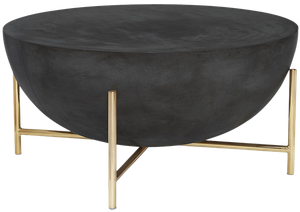 African Drum Coffee Table.Darbuka Brass Coffee Table