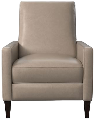 Sedgwick Leather Recliner | Leather, Taupe
