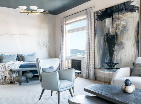 SF Decorator Showcase master bedroom by Tineke Triggs