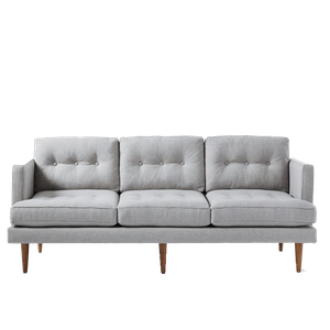 Cool Peggy Mid Century Sofa 79 5 Sofa Heathered Crosshatch Feather Gray Cjindustries Chair Design For Home Cjindustriesco