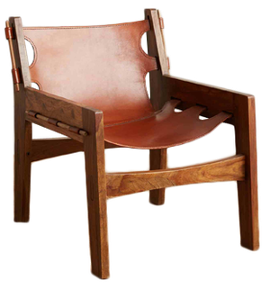 Prime Leather Sling Chair Creativecarmelina Interior Chair Design Creativecarmelinacom