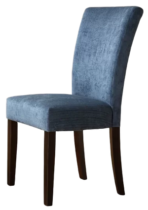 Danberry Upholstered Dining Chair Set Of 2 Royal Blue Decorist