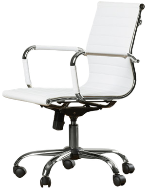 Groovy Alessandro Desk Chair White Gmtry Best Dining Table And Chair Ideas Images Gmtryco
