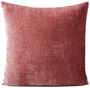 Lush Velvet Pillow Cover Pink Grapefruit Individual 20 X20