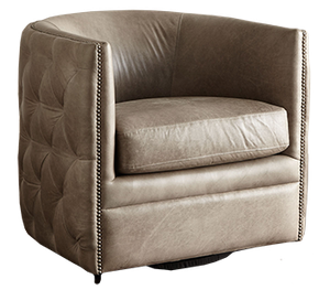 Astonishing Abriola Leather Swivel Chair Beatyapartments Chair Design Images Beatyapartmentscom
