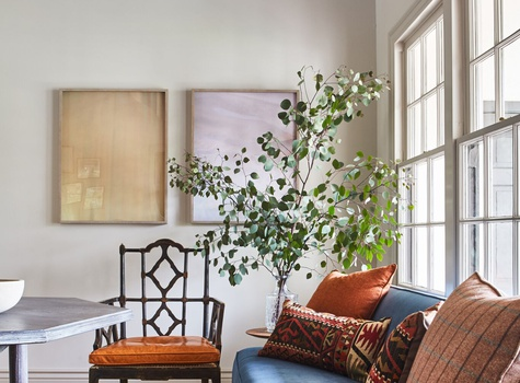 Living Room Design by Decorist Online Interior Designer Jason Martin