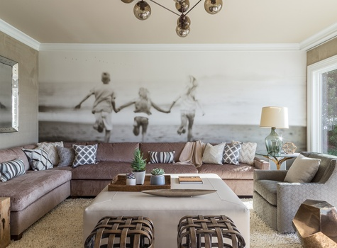 Living Room Design by Celebrity Designer