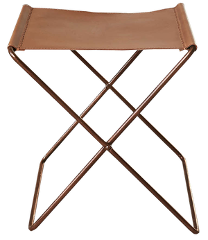 Awesome 4040 Locust Leather Sling Stool Cjindustries Chair Design For Home Cjindustriesco