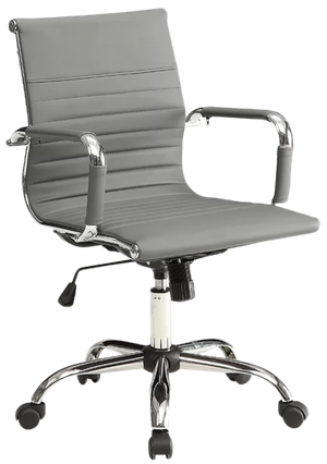 Wondrous Alessandro Desk Chair Gray Gmtry Best Dining Table And Chair Ideas Images Gmtryco