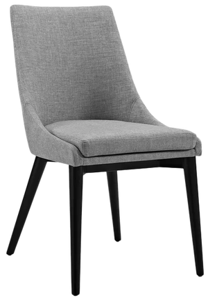Minton Dining Side Chair Set Of 2 Light Gray Decorist
