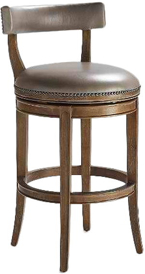 Magnificent Henning Low Back Bar Height Bar Stool Leather Unemploymentrelief Wooden Chair Designs For Living Room Unemploymentrelieforg