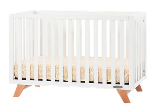 Child Craft Forever Eclectic Soho 4 In 1 Convertible Crib In White Natural Decorist