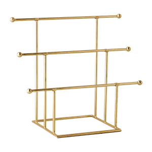 Emilia Tiered Jewelry Stand Gold