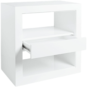 Atelier Side Table With Drawer Decorist
