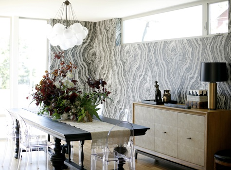 Dining Room by Celebrity Designer Brian Paquette