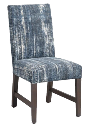 Terrific Indigo Blue Emmett Upholstered Dining Chairs Set Of 2 Andrewgaddart Wooden Chair Designs For Living Room Andrewgaddartcom