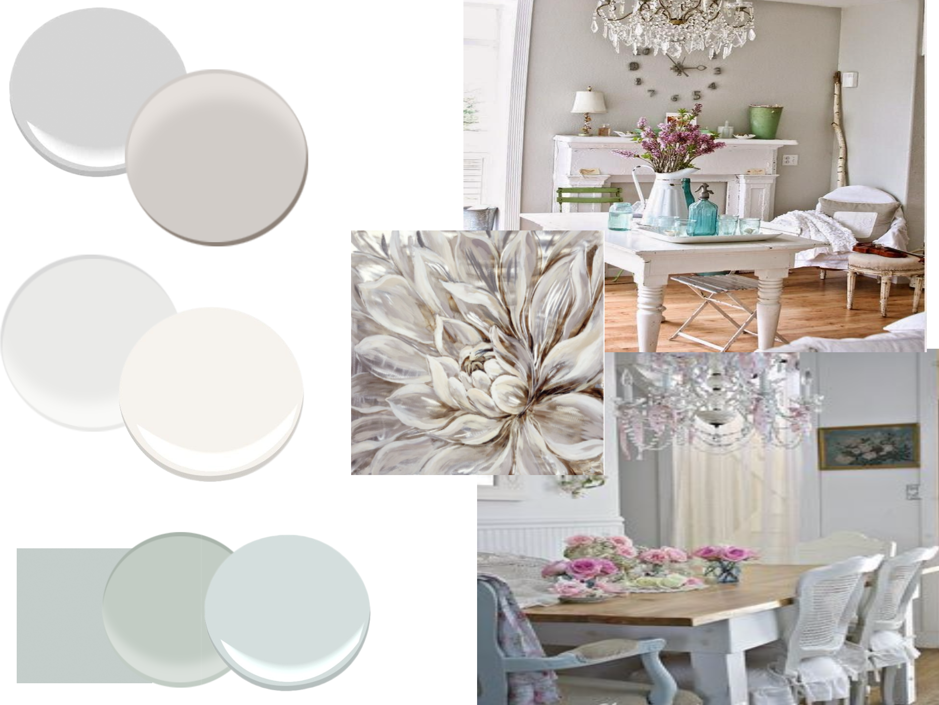 Paint Colors For Shabby Chic Glam Decorist