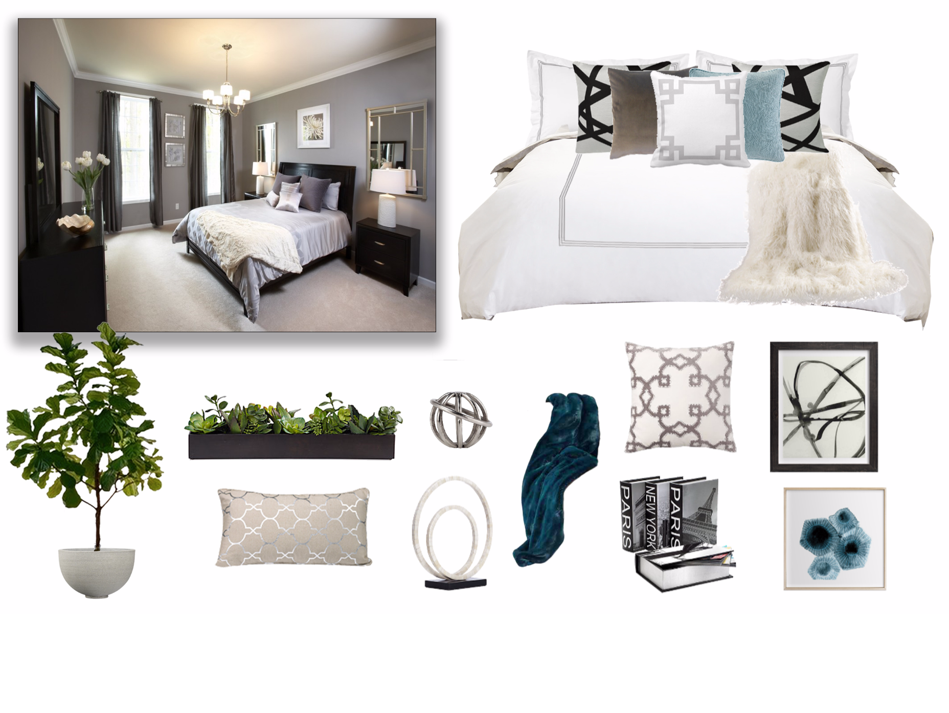 free expert online interior design advice accessorizing a guest bedroom