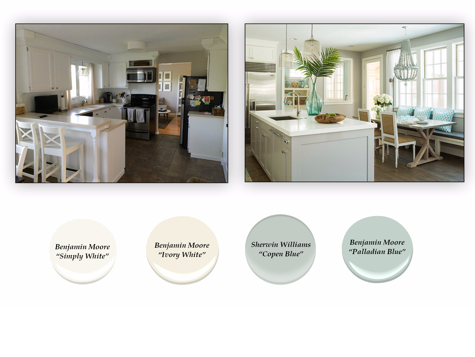 White Paint Colors From Benjamin Moore