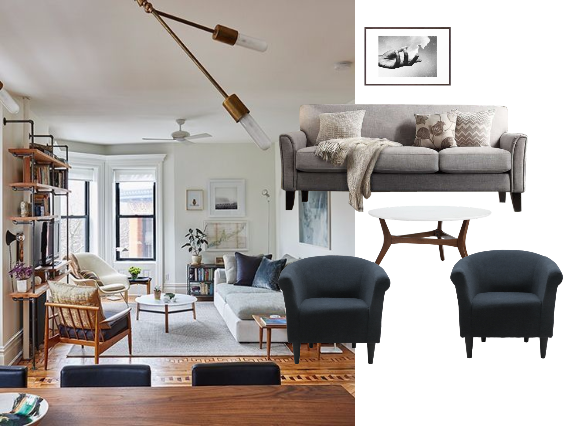 How To Furnish An L Shaped Living Room Decorist