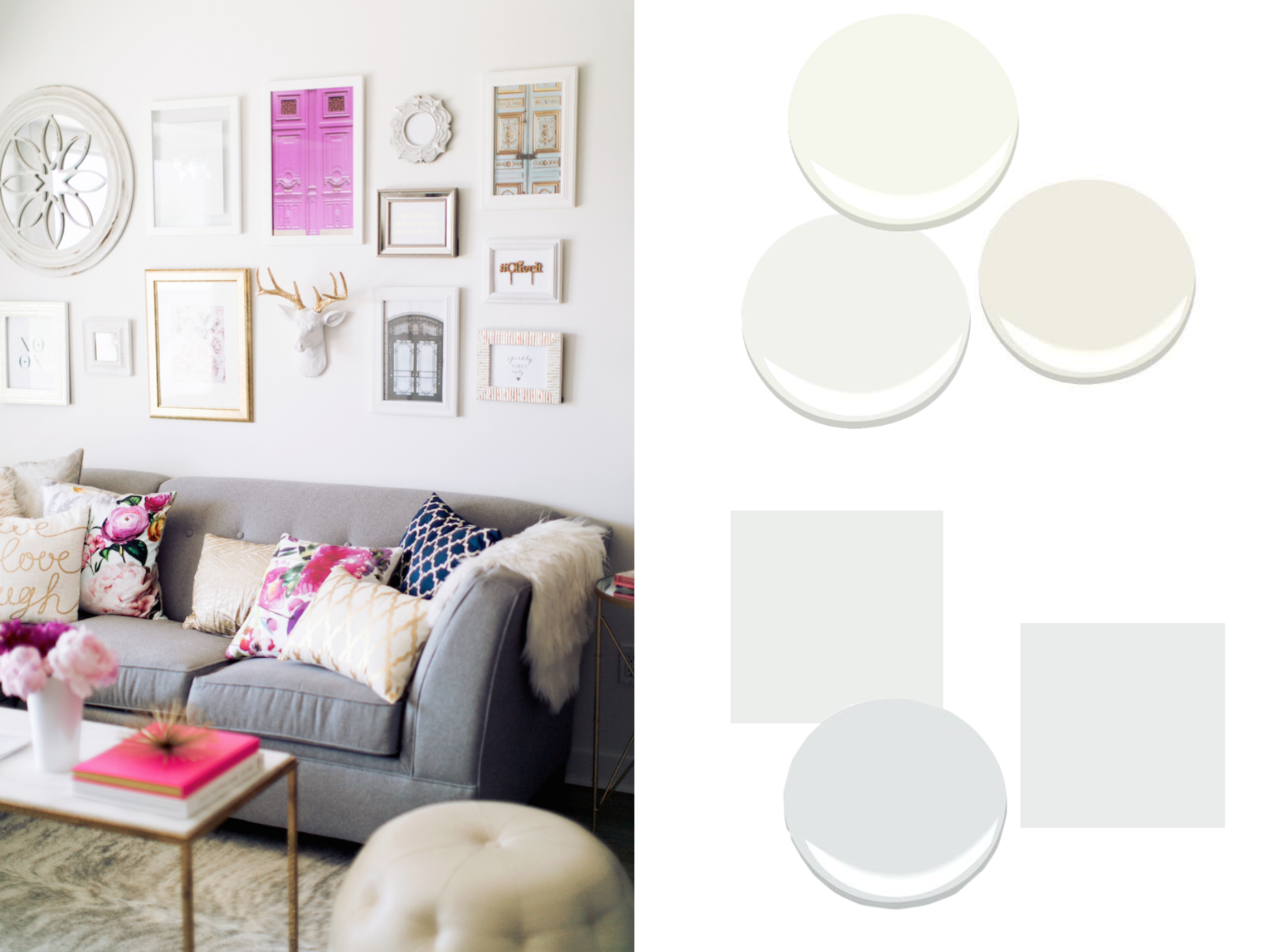 Paint Colors That Work With A Dark Grey Sofa Decorist
