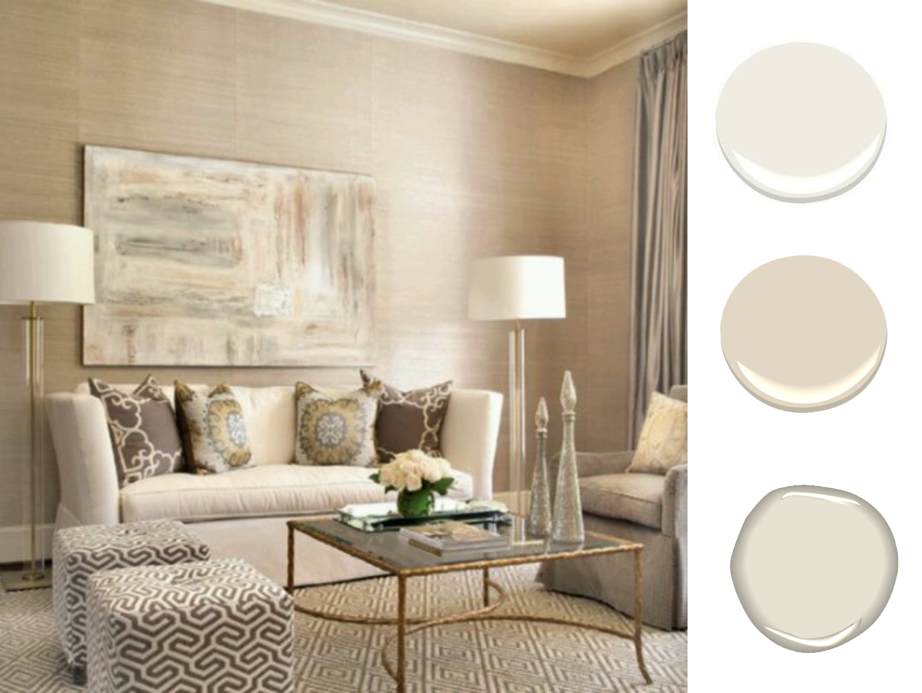 Wall Color That Works With A Dark Beige Carpet Decorist