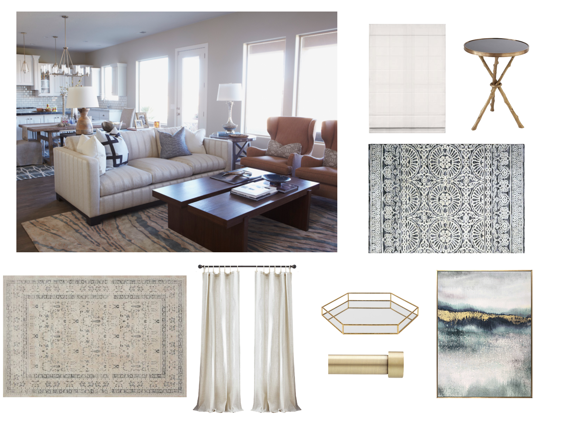 10 ways to decorate your home with shiplap.htm open concept dining and living spaces   decorist  open concept dining and living spaces