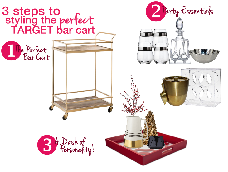 One Stop Bar Cart Styling