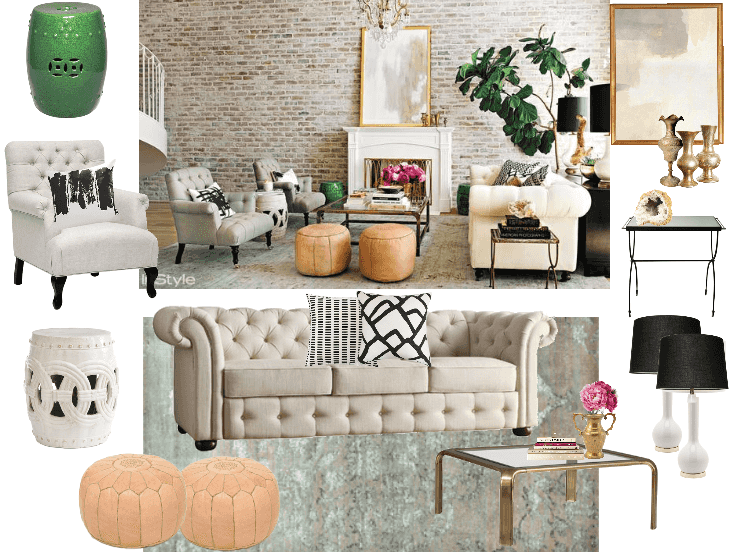 GET THE LOOK: LAUREN CONRAD'S LIVING ROOM