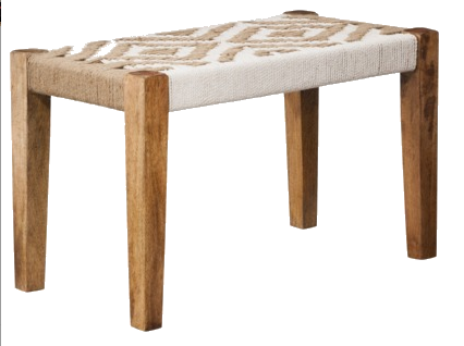 Target Threshold Woven Ottoman Bench