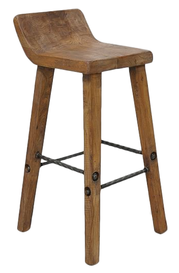Surprising Hewn Wood Bar Counter Stools Bar Stool Height 30 H Onthecornerstone Fun Painted Chair Ideas Images Onthecornerstoneorg