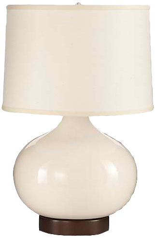 Merie ivory table lamp with bronze outlet base decorist aloadofball Images