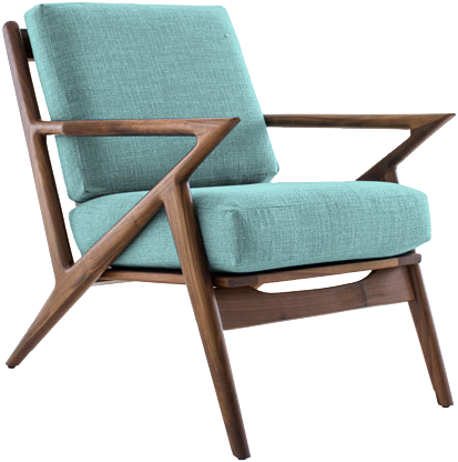 Magnificent Soto Armchair Essence Aqua Walnut Caraccident5 Cool Chair Designs And Ideas Caraccident5Info