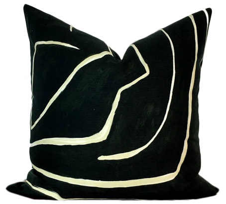 wearstler fabric height feline product fit pillow pillows cover width chairish aspect kelly