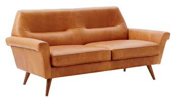 Enjoyable Denmark Leather Loveseat 66 Sienna Caraccident5 Cool Chair Designs And Ideas Caraccident5Info