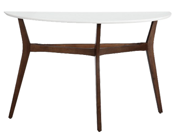 Two-Tone Mid Century Modern Console Table - Threshold™