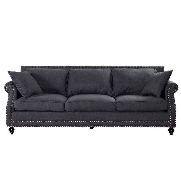 Enjoyable Bournemouth Sofa By House Of Hampton Grey Gmtry Best Dining Table And Chair Ideas Images Gmtryco