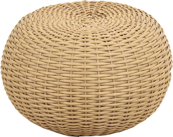 Wicker Pouf Brown Threshold™ Decorist Enchanting Threshold Outdoor Pouf