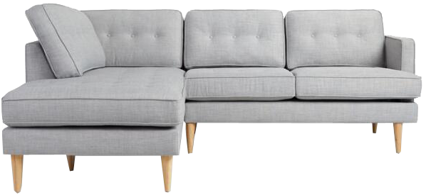 Groovy Dove Gray Woven Apel Sectional Sofa With Chaise Gmtry Best Dining Table And Chair Ideas Images Gmtryco