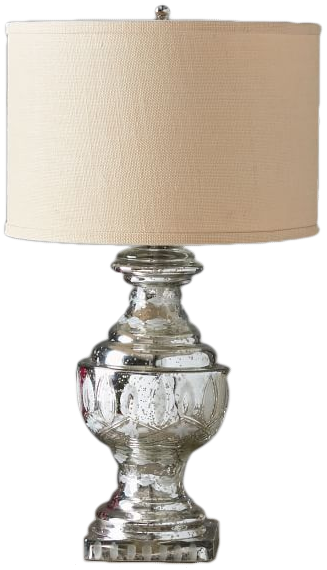 Jamie Young Antique Etched Mercury Lamp