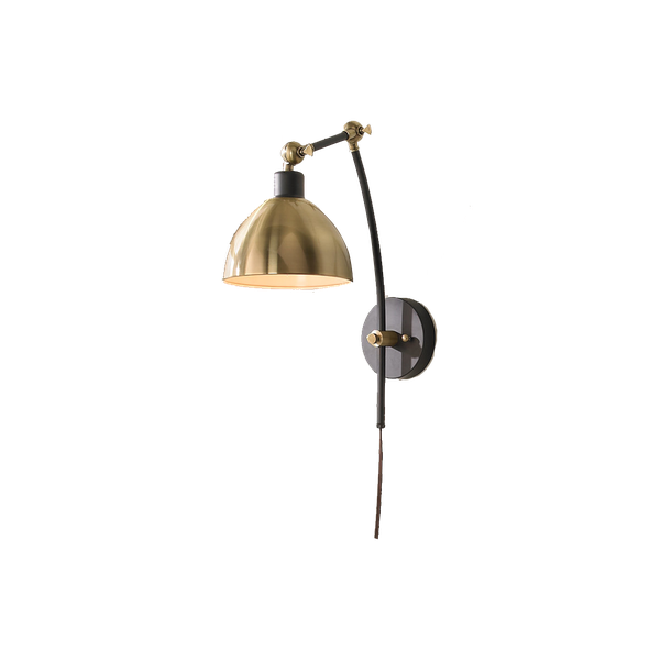 Young House Love Dapper Adjustable Arm Wall Sconce